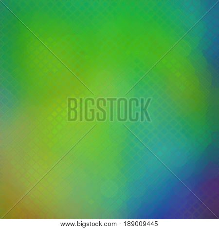 Refreshing lime green colorful modern polygonal abstract background