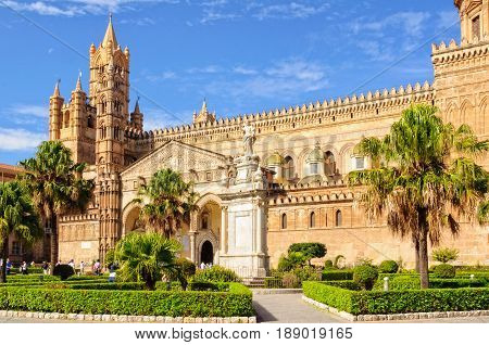 Cathedral of Palermo dedicated to the Assumption of the Virgin Mary - Palermo Sicily Italy