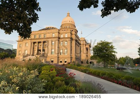 This architectural marvel is the place Idaho's Government works