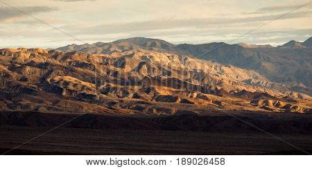 The lowest spot in the United States Death Valley National Park