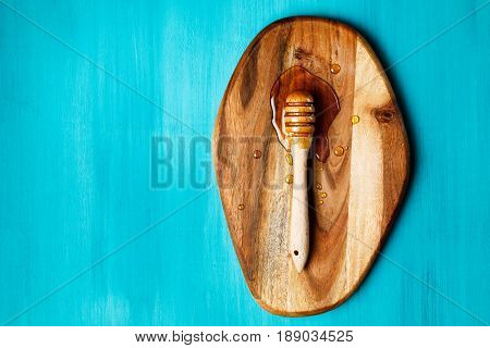 Honey Spoon, Special Wooden Dipper