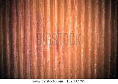 Abstract Red zinc texture background., retro style