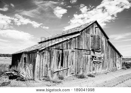 Weathered Barn Taken along HWY 2 Idaho