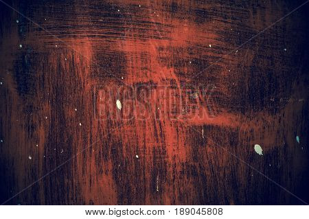 Red zinc abstract texture retro old background.