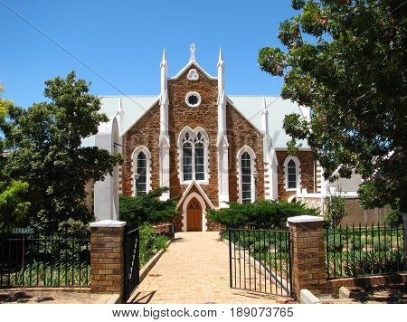 FROM PIKETBERG, WESTERN CAPE,  SOUTH AFRICA, AN OLD CHURCH