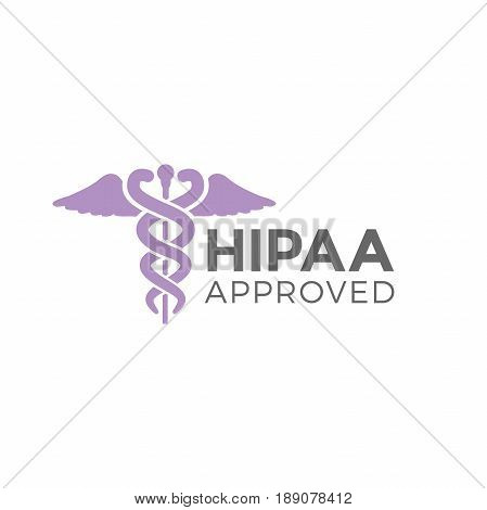 a HIPAA Compliance Icon Graphic - APPROVED