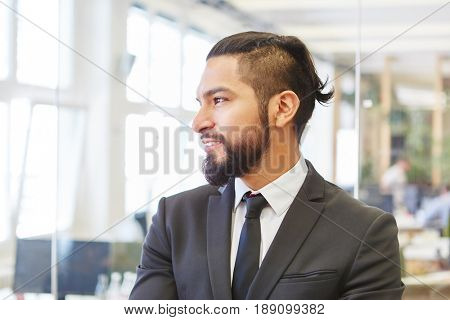 Man as businessman and entrepreneur business consultant