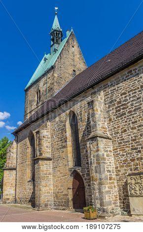 St. Martini Church In The Historic Center Of Stadthagen