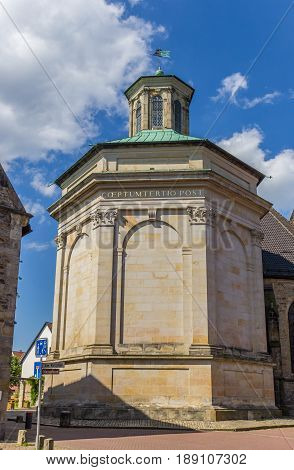Royal Mausoleum In The Historic Center Of Stadthagen