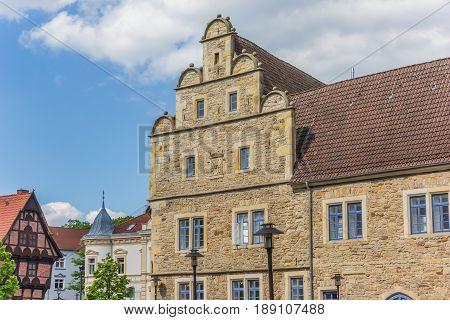 Facade Of The Castle Of Stadthagen