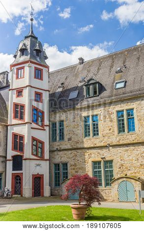 Tower At The Courtyard Of The Castle Stadthagen