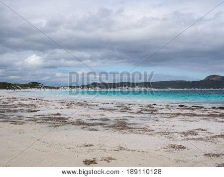 Lucky Bay on a cloudy day Cape Le Grand National Park Western Australia