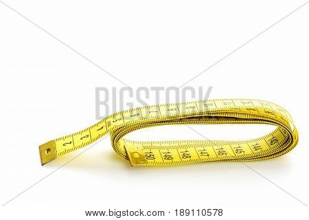 Ruler For Sewing In Yellow Color With Black Numbers