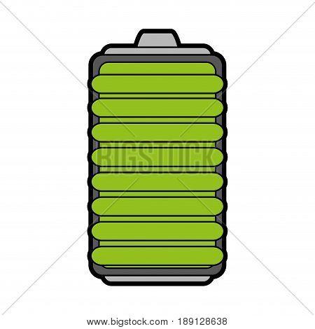small battery icon image vector illustration design