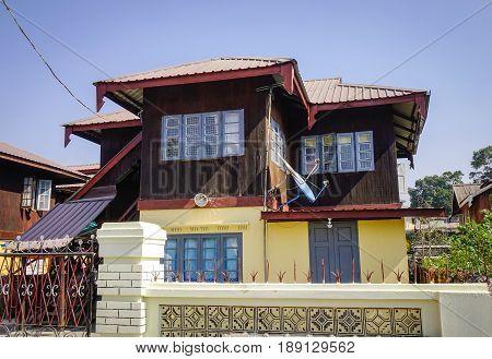 Old Buildings In Pyin Oo Lwin, Myanmar