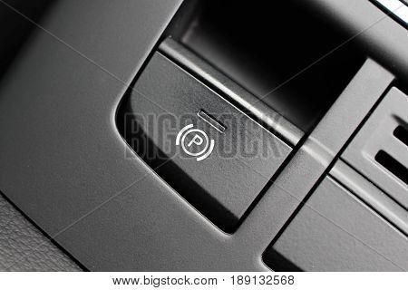 An image of a car handbrake - parking