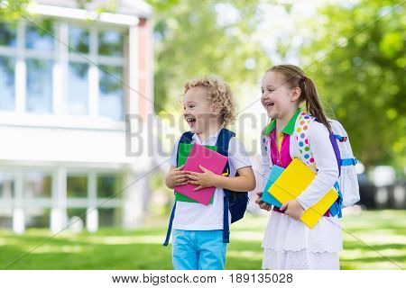 Children Going Back To School, Year Start
