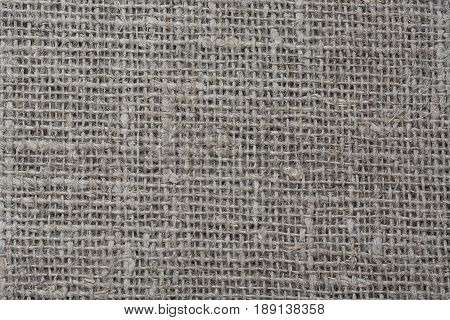 The linen fabric. The texture of linen cloth.