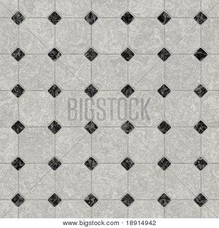 elegant black and white marble floor, seamlessly tillable