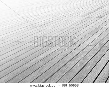 Wooden deck background lumber light pattern or texture