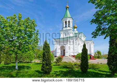 Church of Intercession of Holy Virgin (Holy Protection Church) Polotsk Belarus