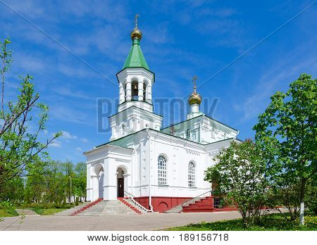 Church of Intercession of Holy Virgin (Holy Protection Church) Nizhne-Pokrovskaya Street Polotsk Belarus