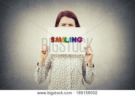 Smiling Text Emotion