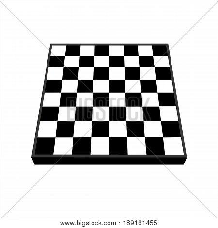 Empty chess board. Empty chees board vector