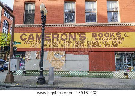 Camerons Books and Magazines in Portland - PORTLAND - OREGON