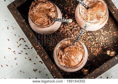 Iced Chocolate Drink