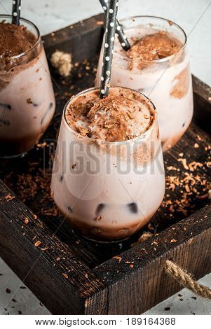 Iced Chocolate Drink