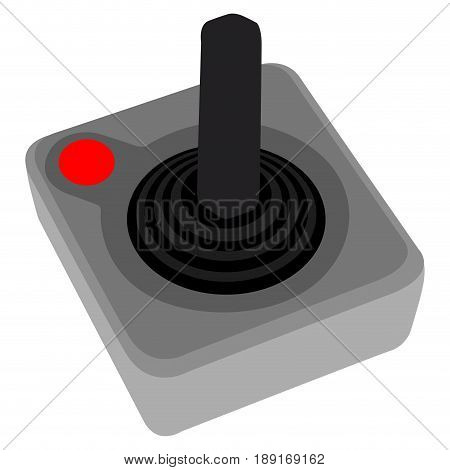 Isolated Videogame Joystick