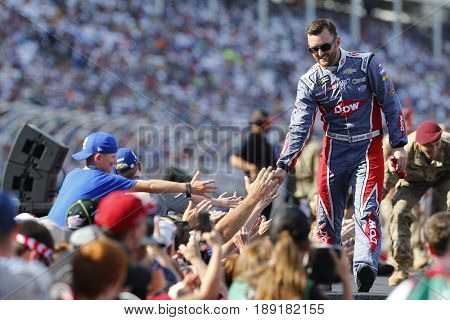 May 28, 2017 - Concord, NC, USA: Austin Dillon (3) walks to his car for the Coca Cola 600 at Charlotte Motor Speedway in Concord, NC.