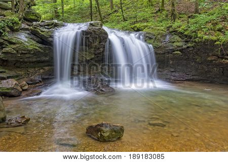 Debord Falls At Frozen Head State Park In Tennessee