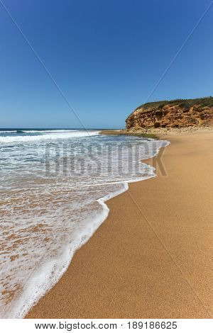 Bells Beach near Torquay in Victoria is one of Australia's most famous beaches. The beach is home to one of the longest running surfing competitions and is reachable on a day trip from Melbourne.