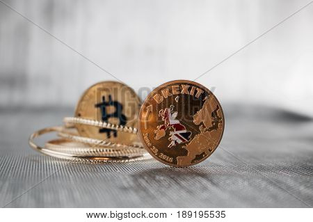 Brexit And Bitcoin Coins
