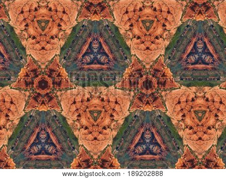 Abstract Photo Pattern
