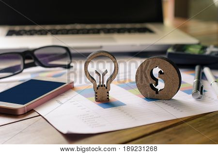 Business must have creative ideas for making a profit for the business.