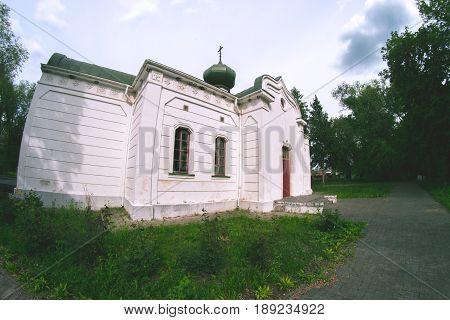 Holy Trinity Church in Cherkasy region, Ukraine
