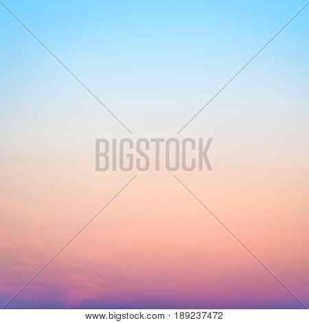 Sunset Or Sunrise Colorful Sky