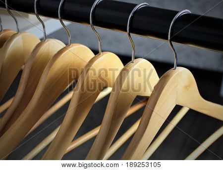 An image of a hanger - Boutique, clothes