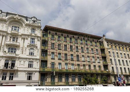 austria, vienna, wien row houses