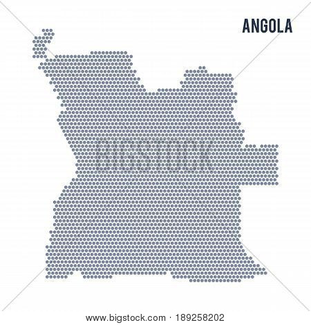 Vector Hexagon Map Vector & Photo (Free Trial) | Bigstock