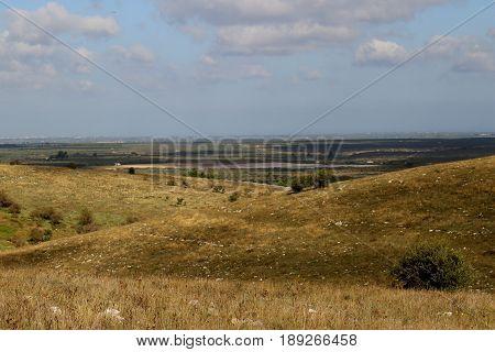 Una vista dall'alto del Parco dell'alta Murgia