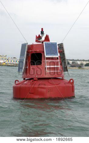 Red Navigation Buoy
