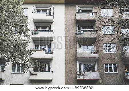 Old And New, Social Housing In Berlin Kreuzberg