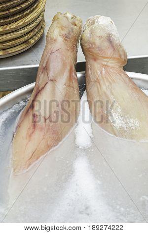 Leg Ham With Salt