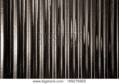 Texture zinc background with light and shadow style