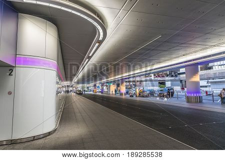 New Drop Off And Pick Up Area At Frankfurt International Airport