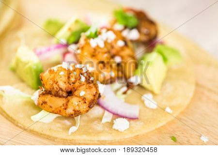 Chipotle Shrimp Tacos